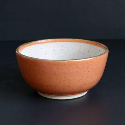 Müslischale in der Farbe Mandarine